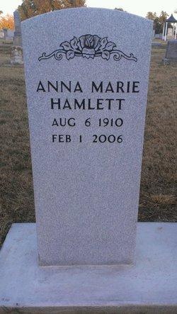 Anna Marie Hamlett