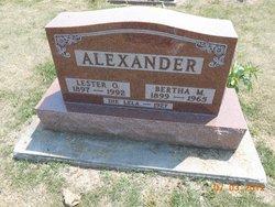 Bertha M. Alexander