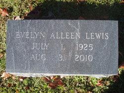 Evelyn Alleen <i>Whitehead</i> Lewis