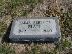 Emma Rebecca <i>Phillips</i> Blatt
