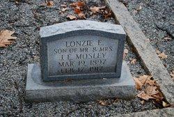 Lonzie E Mosley