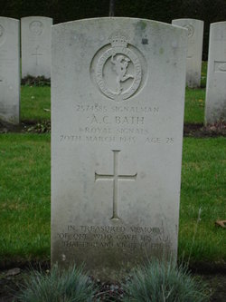 Signalman Alan Cecil Bath