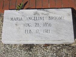 Maria Angeline <i>Nichols</i> Broome