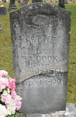 Bernetta Nettie <i>Stephenson</i> Cook