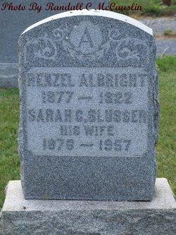 Sarah C <i>Slusser</i> Albright