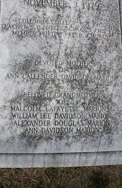 Nell Eulalia <i>Purvis</i> Davidson