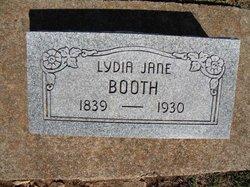 Lydia Jane <i>Brazelton</i> Booth
