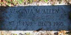 Virginia M <i>Richards</i> Allen