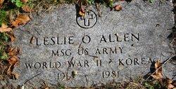 Leslie O Allen