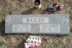 Anna Marie Granny <i>Hamilton</i> Bailey