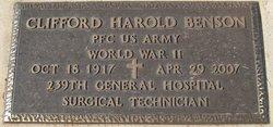 Clifford Harold Benson
