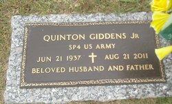 Quinton Gid Giddens, Jr
