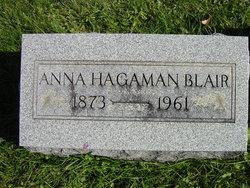 Anna Belle <i>Hagaman</i> Blair