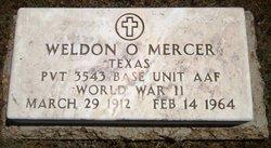 Weldon Orville Mercer, Sr