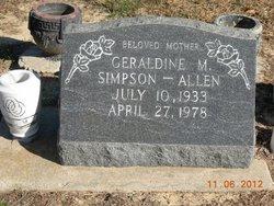 Geraldine Muriel <i>Dana</i> Allen