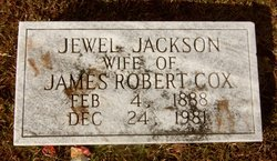 Mrs Jewel Ophelia <i>Jackson</i> Cox