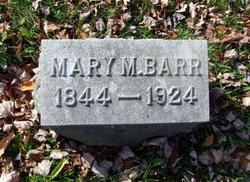 Mary M <i>Barr</i> Allabach