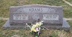 M Lucille <i>Wood</i> Adams