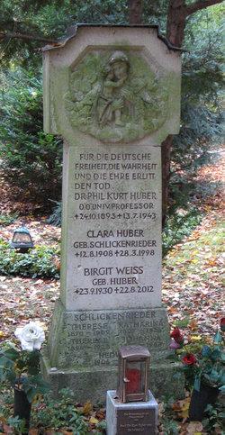 Clara <i>Schlickenrieder</i> Huber