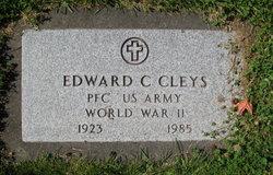 Edward C Cleys