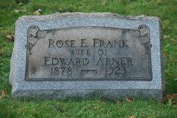 Rose E <i>Frank</i> Arner