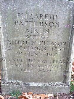 Elizabeth Patterson <i>Aiken</i> Gleason