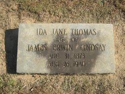 Ida Jane <i>Thomas</i> Lindsay