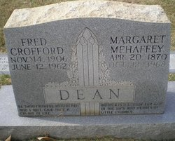Margaret <i>Mehaffey</i> Dean