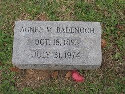 Agnes M Badenoch