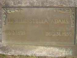 Lucille Stella Adams