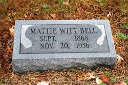 Mattie <i>Witt</i> Bell