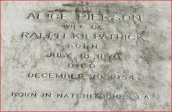 Alice <i>Pierson</i> Kilpatrick
