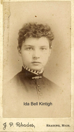 Ida Bell <i>Kintigh</i> Taylor