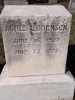 Agnes L. Johnson