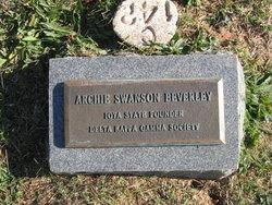 Archie <i>Swanson</i> Beverly