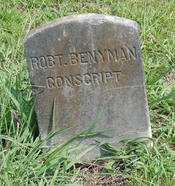 Pvt Robert Benyman