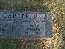 David O Carder