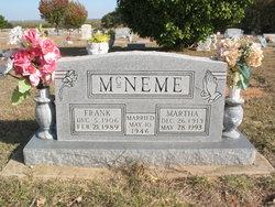 Martha May <i>Henson</i> McNeme