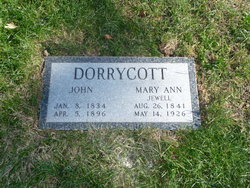 Mary Ann <i>Jewell</i> Dorrycott