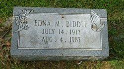 Edna M <i>Clough</i> Biddle