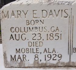 Mary E <i>Davis</i> Blount