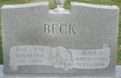 James M Beck, Sr