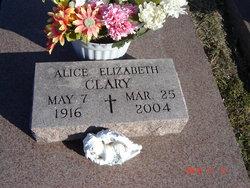 Alice Elizabeth <i>Westhoff</i> Clary