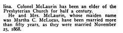 Daniel Washington McLaurin