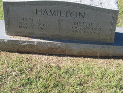 Benjamin H Hamilton