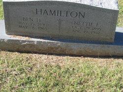 Nettie Lillian <i>Holliday</i> Hamilton