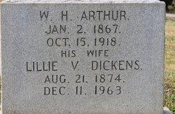 Lillia V. <i>Dickens</i> Arthur