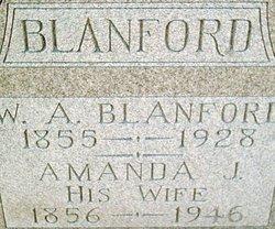 Amanda Jane <i>Gatchell</i> Blanford