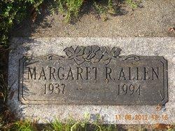 Margaret R <i>DeGraaf</i> Allen