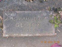 Crystal Renee Gesick
